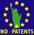 Software Patents in Europe protest